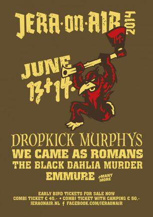 Dropkick Murphys en meer naar Jera On Air