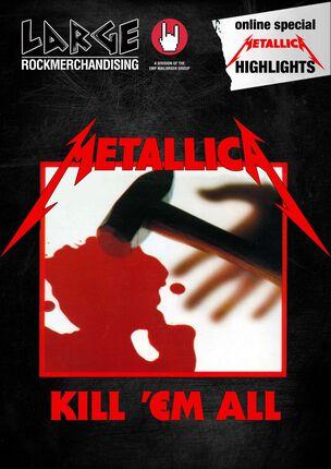 Kill 'Em All bestaat 30 jaar dus vandaar onze nieuwe Metallica special e-zine