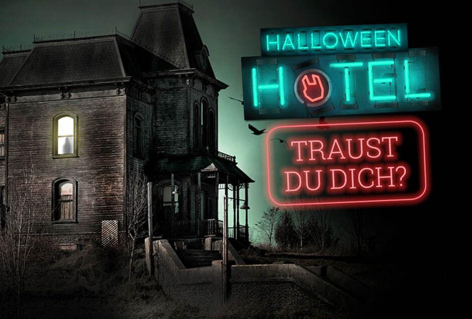 Welkom bij het LARGE Halloween Hotel!