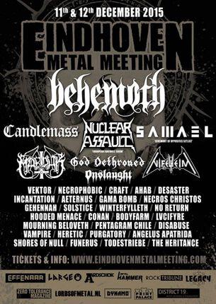 Eindhoven Metal Meeting: Line-up compleet