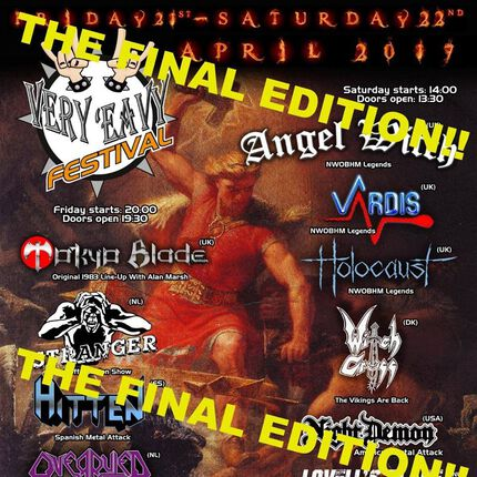 Very 'Eavy Festival – The final edition
