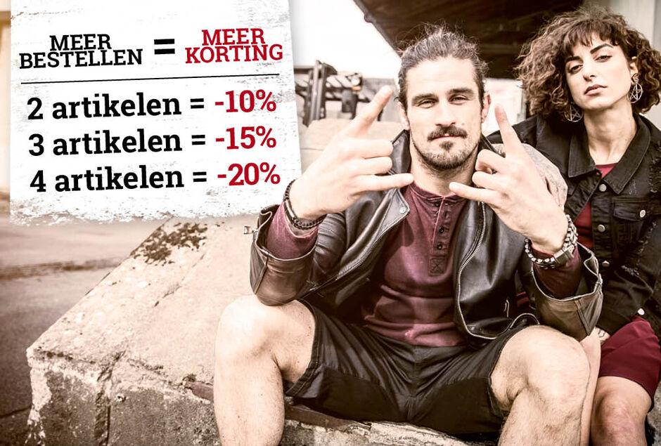 Bespaar tot wel 20% op fashion!