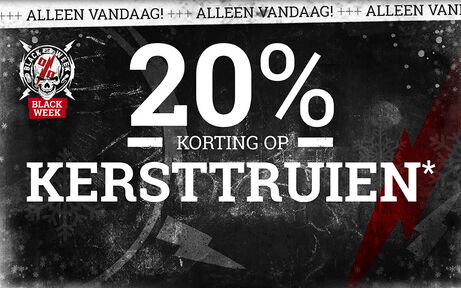 20% KORTING OP KERSTTRUIEN