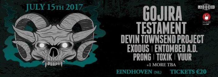 Devin Townsend Project bevestigd voor Dynamo Metalfest 2017!