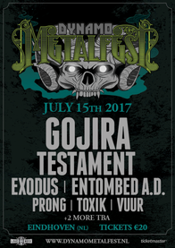 Gojira op Dynamo Metalfest 2017!