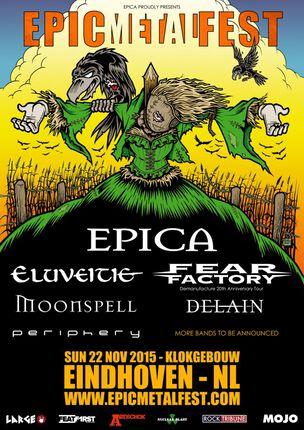 Epica organiseert gloednieuw festival Epic Metal Fest
