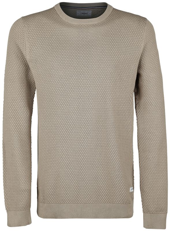 Brick Crew Neck Knit