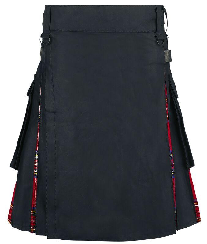 Black Tartan Kilt