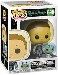 Season 4 - Space Suit Morty With Snake Vinylfiguur 690