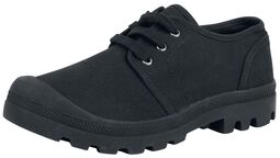 Military Canvas Boot Low