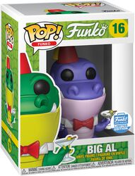 Fantastik Plastik - Big Al (Funko Shop Europe) Vinylfiguur 16