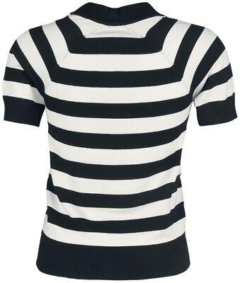 Faith Stripe Monochrome Sweater