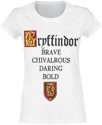 Gryffindor - Brave Chivalrous Daring Bold