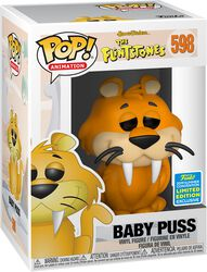 The Flintstones SDCC 2019 - Baby Puss (Funko Shop Europe) Vinylfiguur 598