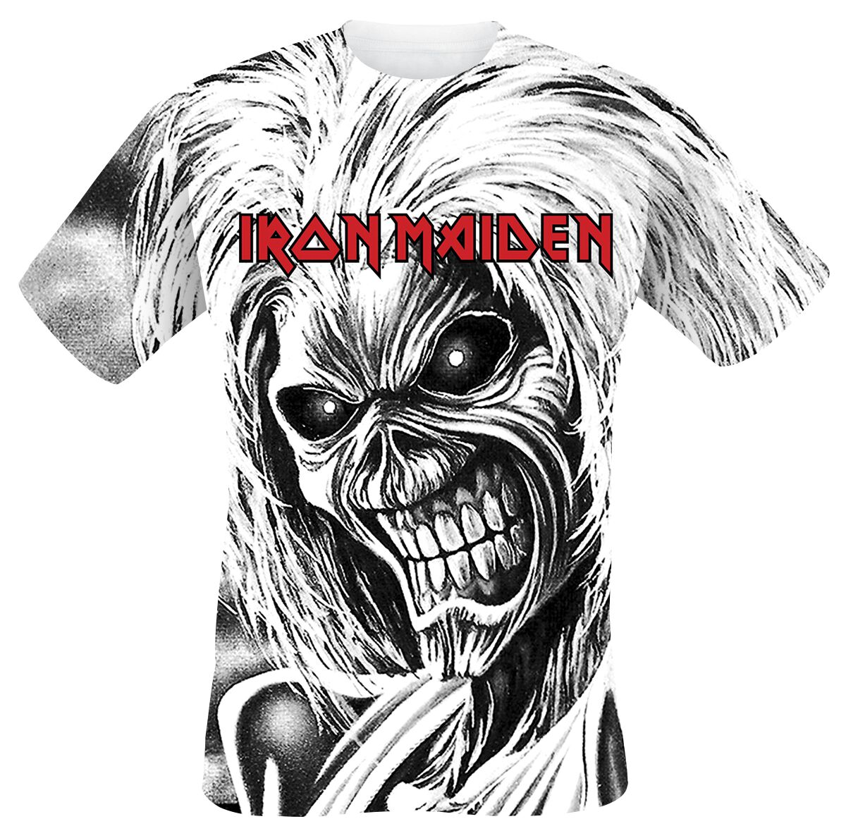 Killers Allover | Iron Maiden T-shirt | Large
