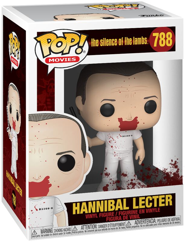 Silence of the Lambs Hannibal Lecter Vinylfiguur 788