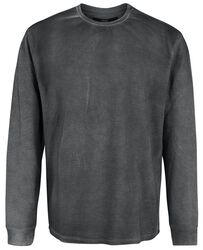 Grey Sweatshirt with Light Wash