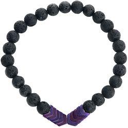 Purple Arrow Bracelet