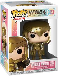 1984 - Wonder Woman Golden Armor Vinylfiguur 323