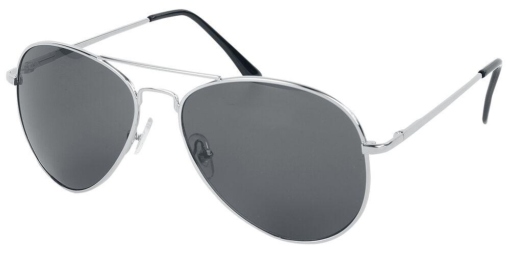 Shiny Silver Aviators