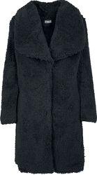 Ladies Soft Sherpa Coat