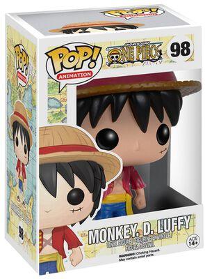 Monkey D. Luffy Vinylfiguur 98