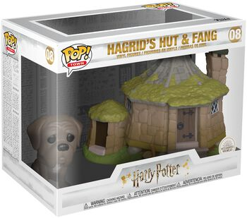 Hagrid's Hut with Fang (Pop! Town) Vinylfiguur 08