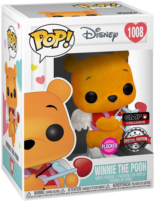 Winnie The Pooh (Valentine) (Flocked) Vinylfiguur 1008