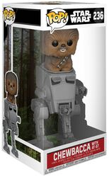 Chewbacca with AT-ST Deluxe Pop! Vinylfiguur 236