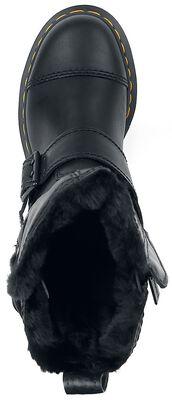 Kristy FL Black Luxor and Black Milo Fur