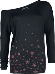 Longsleeve with star print