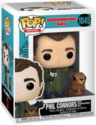 Groundhog Day Phil Connors with Punxsutawney Phil Vinylfiguur 1045