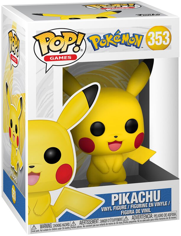 Pikachu Vinylfiguur 353