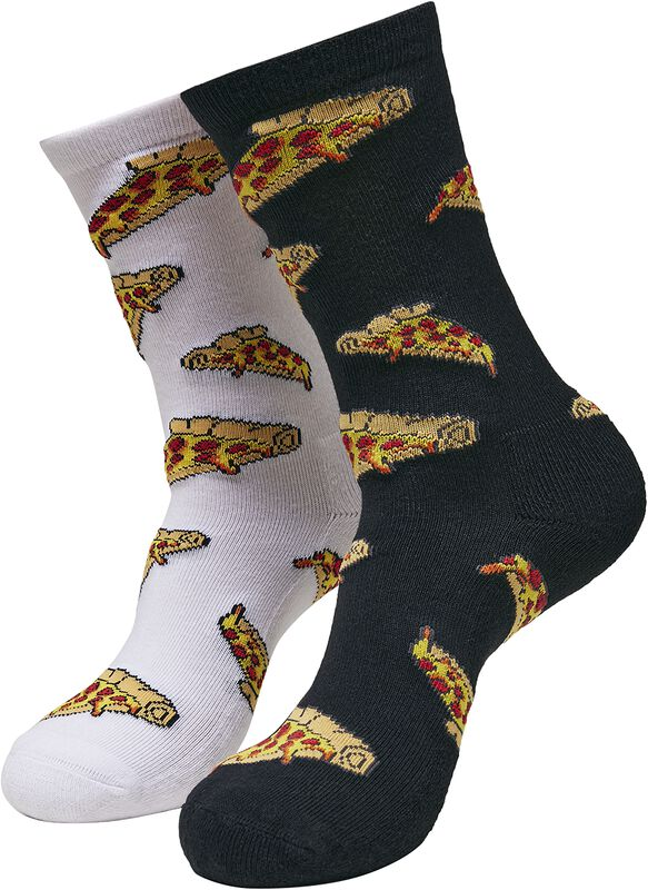 Pizza Slices Socks 2-Pack
