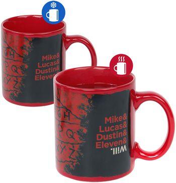 R, U, N - Heat-Change Mug