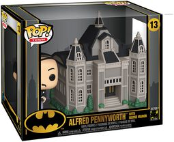 80th - Alfred Pennyworth With Wayne Manor (Pop! Town) Vinylfiguur 13