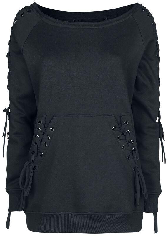 Laced Sweatshirt