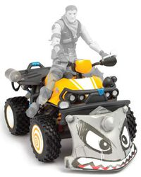 Quadcrasher Action Figure Accessory (28 cm)