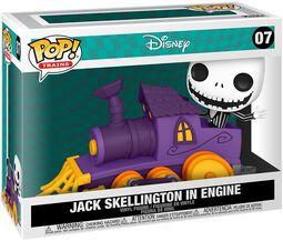 Jack Skellington in Engine (Pop! Train) Vinyl Figuur 07