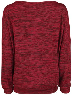 Oversize Melange Wideneck Sweater