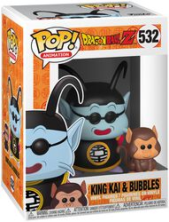 Z - King Kai and Bubbles Vinylfiguur 532