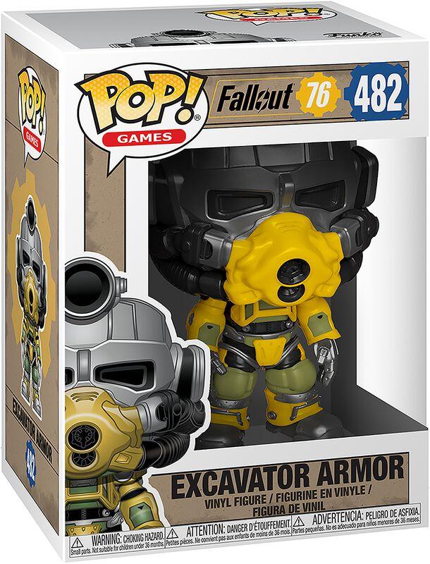 76 - Excavator Armor Vinylfiguur 482