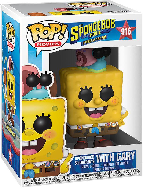 3 - Spongebob with Gary Vinylfiguur 916