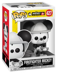 Mickey's 90th Anniversary - Firefighter Mickey Vinylfiguur 427