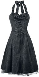 Gothic Banshee Brocade Long Dress