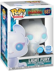 3 - Light Fury (Glitter) (Funko Shop Europe) Vinylfiguur 687