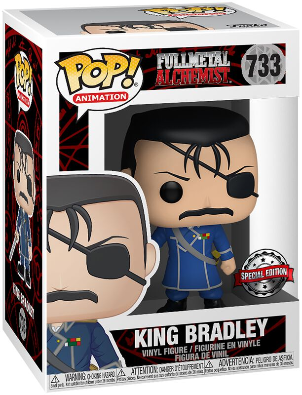 King Bradley (Kans op Chase) Vinylfiguur 733