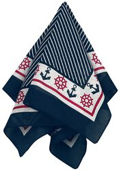Striped Maritime Bandana