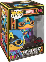 Black Light - Captain America Vinylfiguur 648
