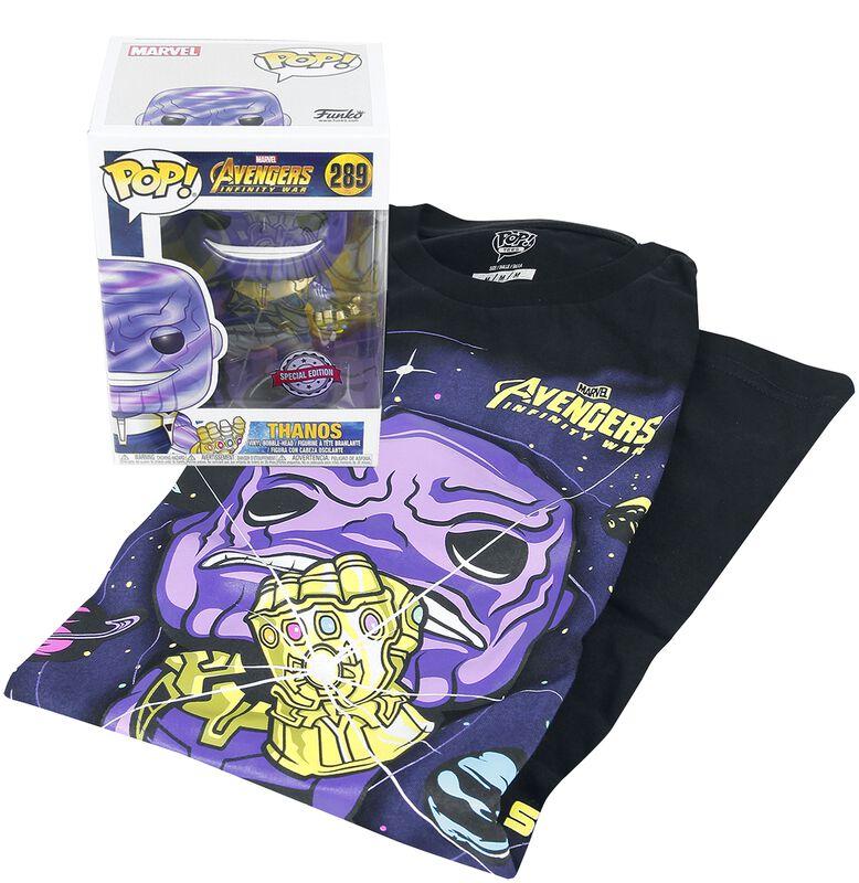 Infinity War - Thanos T-Shirt plus Funko - Fan Package